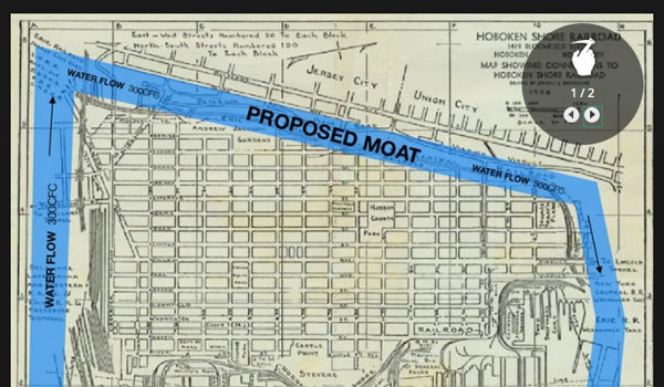 Moat Meeting: City Seeks Input on Flood Plan