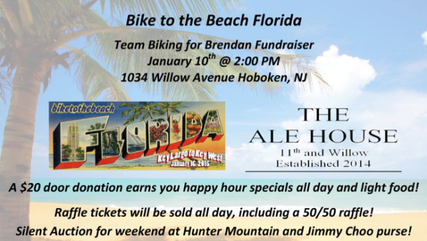 """Bike to the Beach"": Autism Awareness Fundraiser at The Ale House"