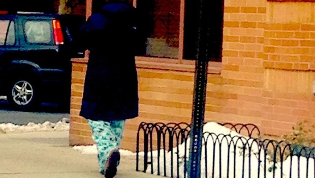 Pajamas in Public: Hoboken Sloth Couture