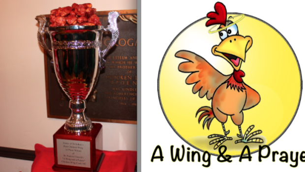"Best Wings in Hoboken: Carpe Diem Seizes the St. Francis Church ""A Wing and a Prayer"" Trophy for Second Year in a Row"