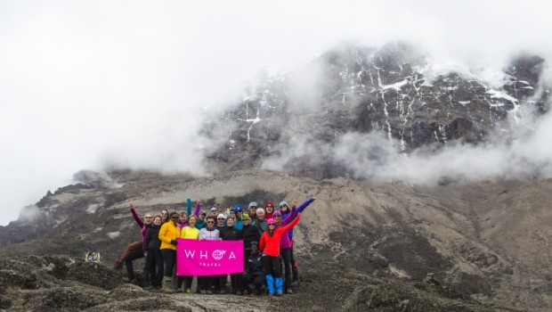 WHOA Travel Sets Off to Scale Kilimanjaro for International Women's Day