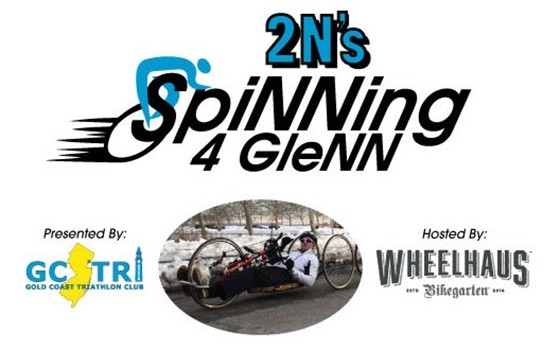 "Gold Coast Triathlon Club Hosts ""2N's SpiNNing for GleNN"" Fundraiser at Wheelhaus — Sat., April 11"