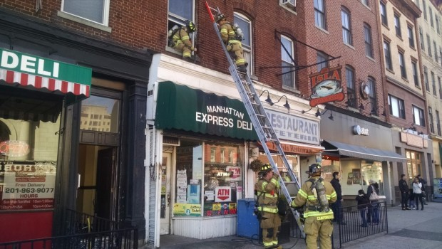 Smoking Hazard: Cigarette Sparks Blaze on Washington Street