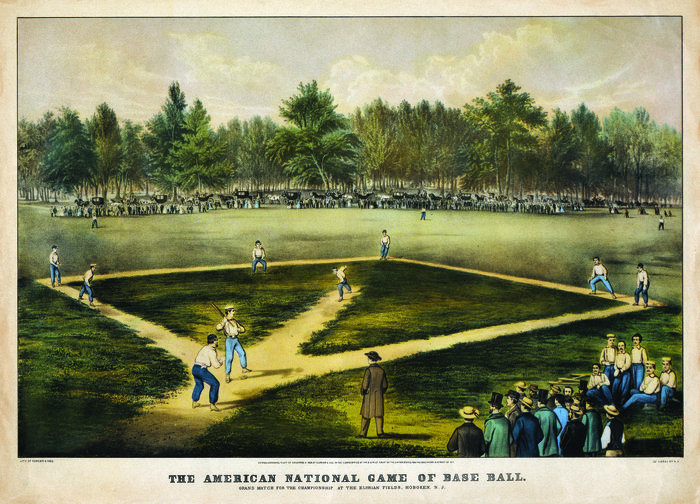 Currier-Ives-Baseball