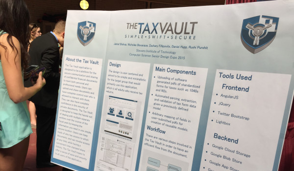 Taxvault—anything to make taxes easier to deal with