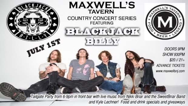 Redneck Rockers Blackjack Billy Roll Into Maxwell's Wednesday Night