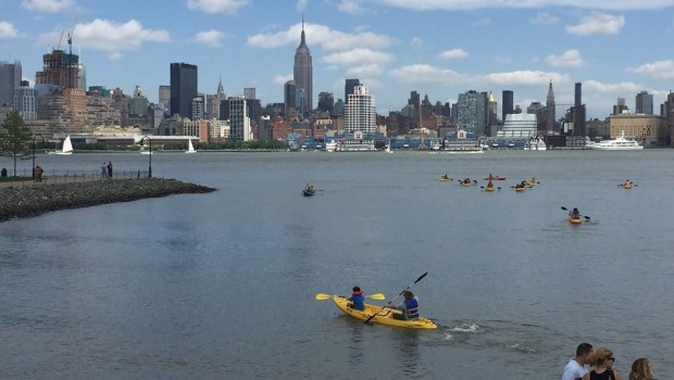 The Water Front and Center—Paddle, Sail or Cruise on the Hudson This Summer