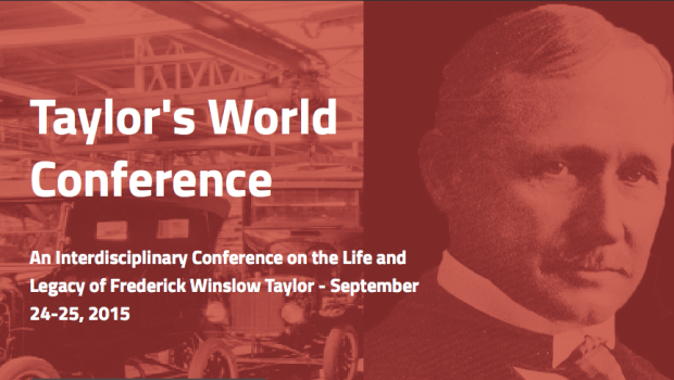 Stevens Institute of Technology to Host Taylor World Conference
