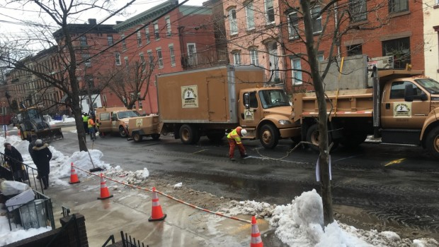 Hoboken Water Main Break — Bloomfield b/t 6th & 7th