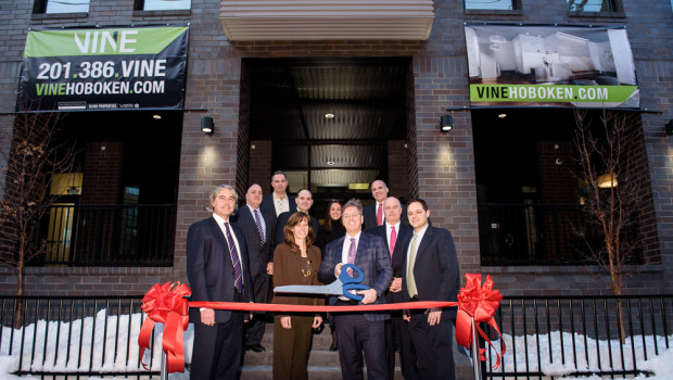 Vine Rental Building Opens on Hoboken's Western Edge