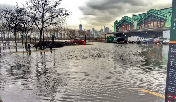 COLD & WET: Coastal Flooding and Winter Weather Advisories in Hoboken Through Wednesday, Feb. 10