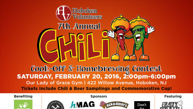 7th Annual Chili Cook-Off & Homebrewing Contest — Saturday, February 20th