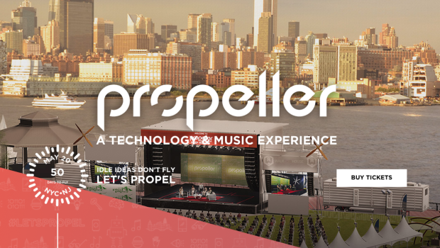 PROPELLER: Technology and Music Festival Set to Launch on Hoboken's Pier A — MAY 20th