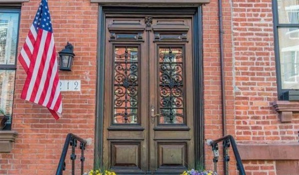 FEATURED PROPERTY: 212 Bloomfield Street, Hoboken – Historic, Two-Family Brick Row Home; $2,292,500