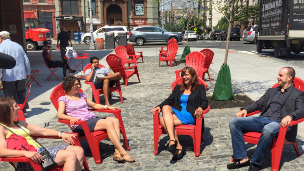 NEWARK STREET PLAZA: A Sliver of Peace in Hoboken's Busy Downtown