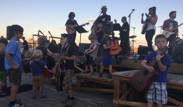 FOLLOW, LEAD OR JUST PLAY: Annual Gathering Of Guitar Tribes Convenes On Hoboken Waterfront — TUESDAY