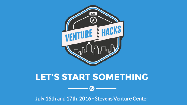 "VENTURE HACKS: Stevens to Host ""Hackathon"" Aimed at Improving Life in Hoboken — July 16-17"
