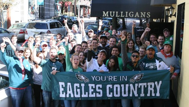 EAGLES COUNTRY???: The Philadelphia Eagles Club of Hoboken