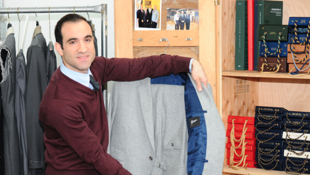 A PATTERN OF EXCELLENCE: Custom Tailor Joseph Genuardi Brings Old World Craftsmanship to Hoboken