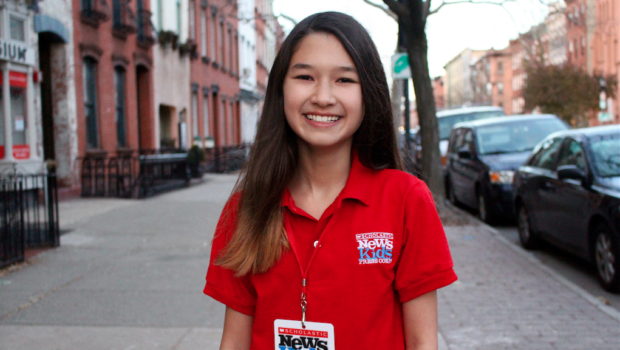 REAL NEWS: Hoboken Student Named to 'Scholastic News Kids Press Corps'