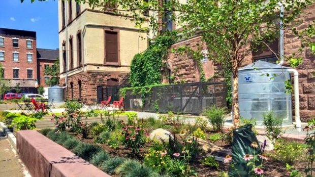CITY OF HOBOKEN TO DEDICATE JOAN R. ABEL MEMORIAL RAIN GARDEN