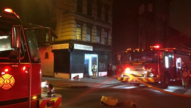 Hoboken Fire Department Responds to Pre-Dawn Smoke at Local Laundromat—Residents, Cat Evacuated