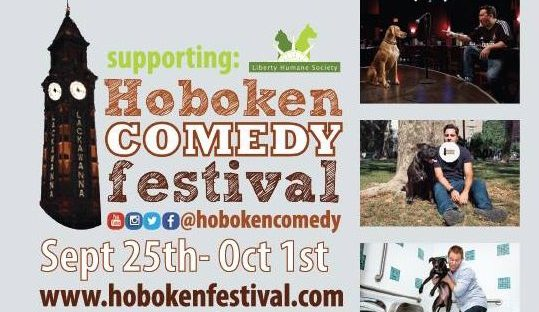 HOBOKEN COMEDY FESTIVAL: September 25th – October 1st