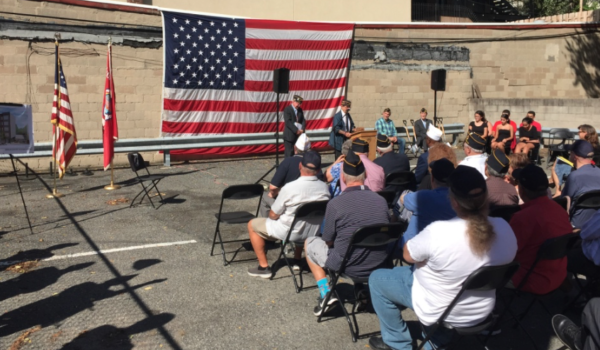Hoboken American Legion Post 107 Breaks Ground on Ambitious New Project to House Homeless Veterans