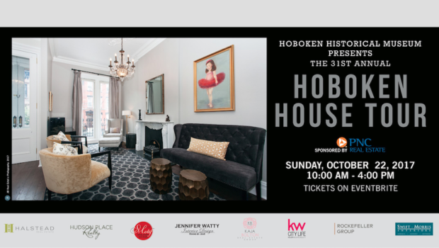 ANNUAL HOBOKEN HOUSE TOUR: Hoboken Historical Museum Showcases Remarkable Homes Around the Mile Square — SUNDAY, OCTOBER 22