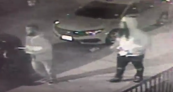 Image of the two individuals sought in connection with this case (taken from HPD video)