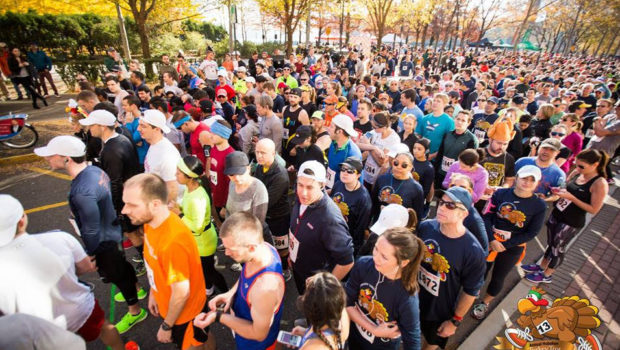 HOBOKEN TURKEY TROT: 5K & 1-Mile Fun Run — SATURDAY, NOVEMBER 18