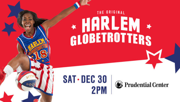 HARLEM GLOBETROTTERS WORLD TOUR: Saturday, December 30 @ the Prudential Center