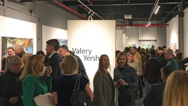 Russian Artist's Solo Exhibition Makes History with Record Attendance at Local Gallery