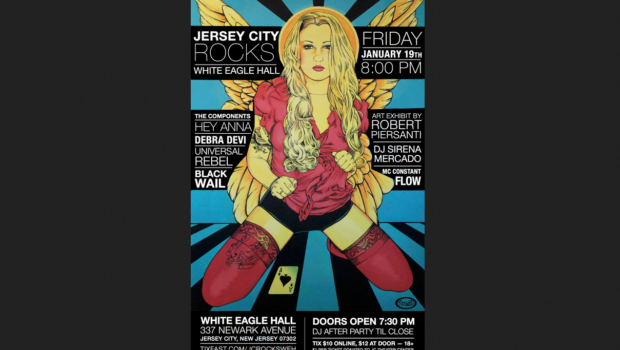 JERSEY CITY ROCKS: The City's Music Scene Takes Centerstage at White Eagle Hall — FRIDAY, JAN. 19th