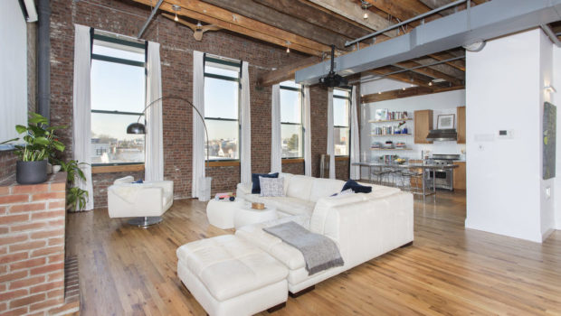 FEATURED PROPERTY: 126 Webster Avenue 4F, Jersey City Heights; Spectacular Penthouse Loft—$975,000