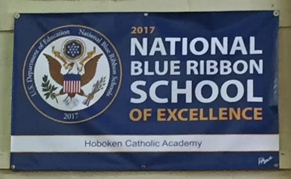 BLUE RIBBON SCHOOL: Mayor, Freeholder On Hand to Celebrate Hoboken Catholic Academy's National Recognition