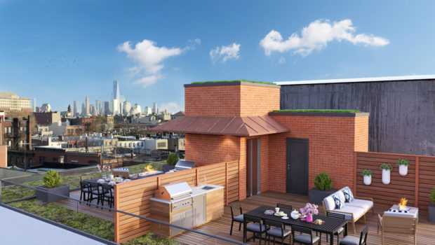 FEATURED PROPERTY: The Fig Tree Penthouse at 306 Park Avenue, Hoboken; State-of-the-Art, Custom-Built 3BR/2.5BA Condominium — $2,200,000