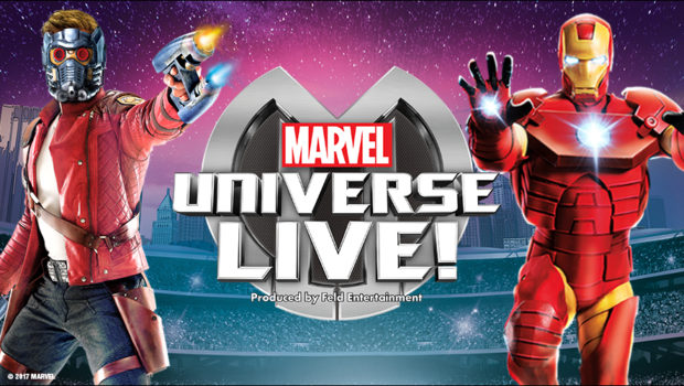 MARVEL UNIVERSE LIVE: @ Prudential Center, March 15-18