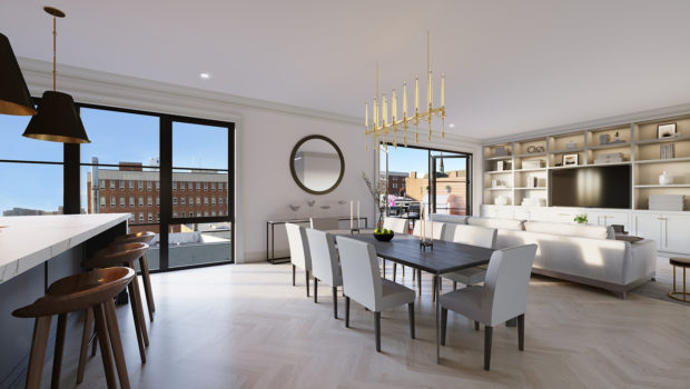 FEATURED PROPERTY: The Fig Tree at 306 Park Avenue No. 2, Hoboken; State-of-the-Art, Custom-Built 3BR/2.5BA Condominium — $1,900,000