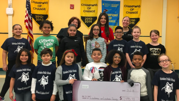 Hoboken's Calabro School Raises Money for the Leukemia and Lymphoma Society