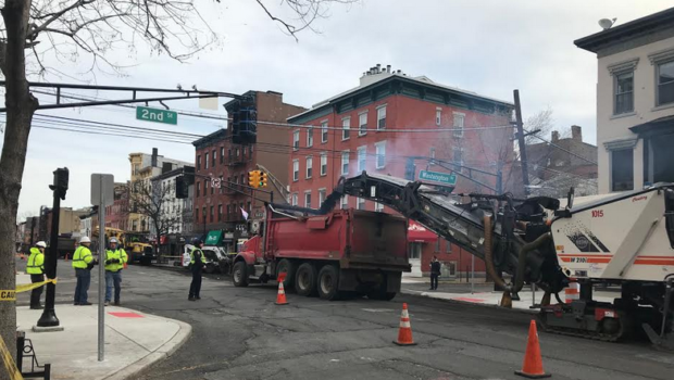 BREAKING: They're ACTUALLY Paving Washington Street