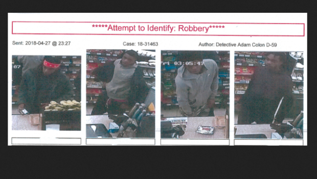 SNEAKER ATTACK: Hoboken Police Seek Four Suspects in Theft of Wallet, Shoes