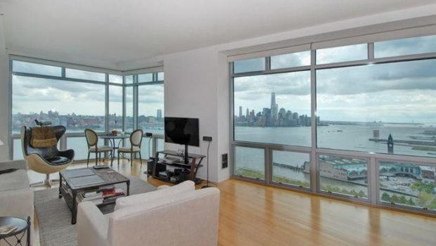 ON THE WATERFRONT: 225 River Street #2403; Breathtaking Hoboken Luxury 3BR/3BA Rental at the W Residences – $14,000/mo