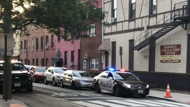 Uniformed Hoboken Parking Utility Agent Rear-Ends Cab, Mows Down Stop Sign, Arrested for DWI