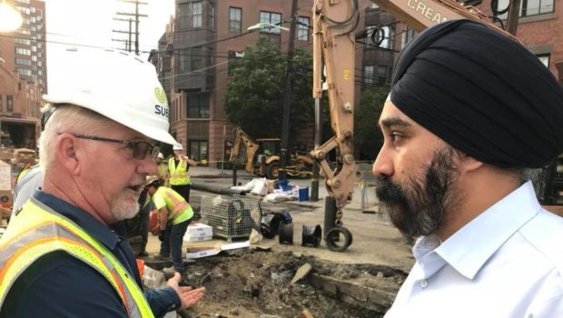 BRIDGE OVER TROUBLED WATER MAINS: Hoboken and SUEZ Announce Formation of Public Water Utility, New Service Contract