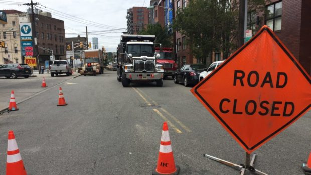 NOT A DROP TO DRINK: Hoboken Water Main Break Continues to Disrupt Water, Traffic Flow for Second Day