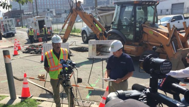 TROUBLE IN THE SUEZ: City of Hoboken and Water Utility Trade Blame for Water Main Breaks
