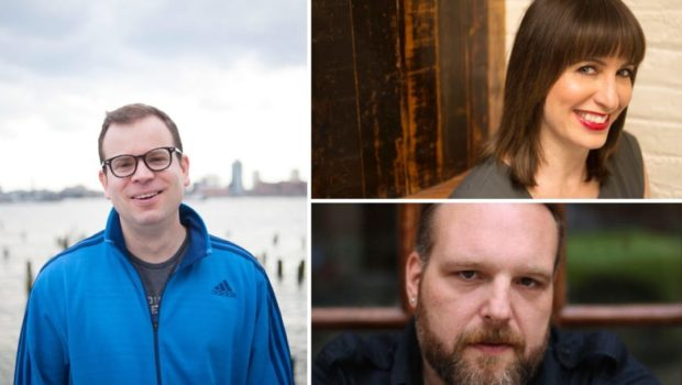 STORYTELLERS AT STEVENS: Adam Wade, Ophira Eisenberg & Peter Aguero — SATURDAY, SEPT. 22