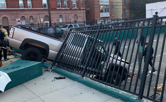 Driver Charged With DUI After Plowing Through Fence Into Hoboken Playground