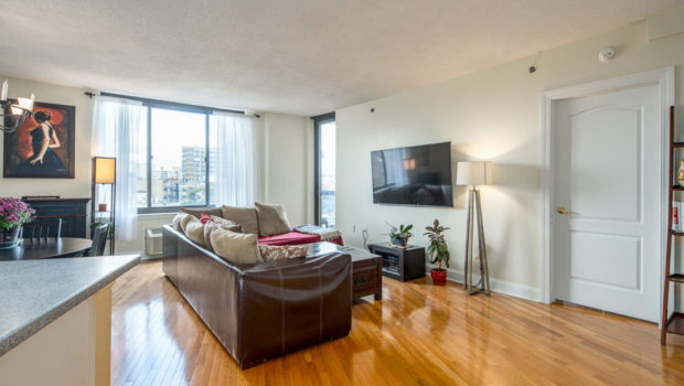 FEATURED PROPERTY: 415 Newark Street Apt. 4C, Hoboken; Downtown Condo w/ Deeded Parking; 2BR/2BA